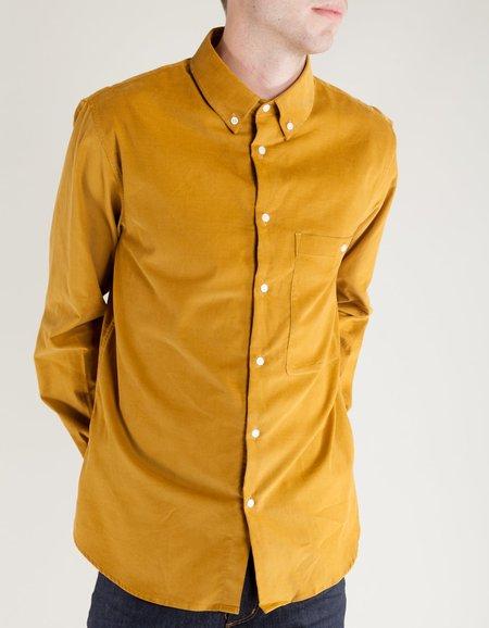 La Panoplie Fine Corduroy Shirt - Moutarde