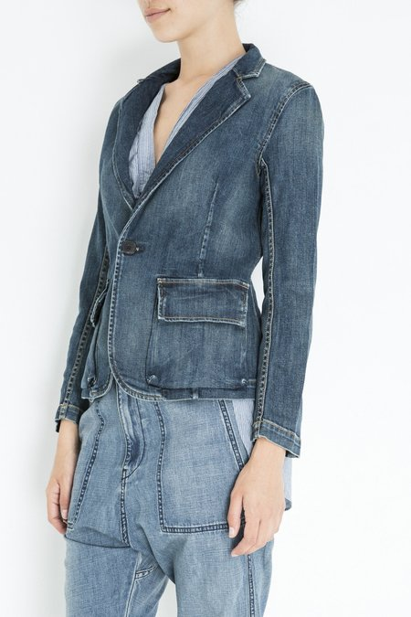 Nili Lotan ADDISON BLAZER - Walker Wash