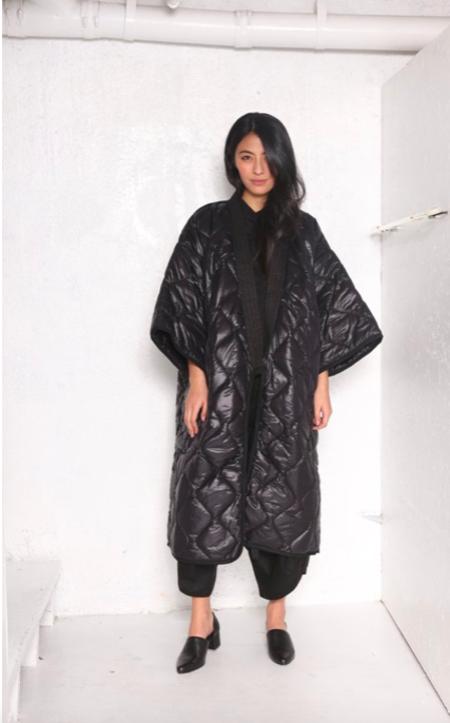 "Unisex ""INTENTIONALLY __________."" Often Puffer Kimono Robe"