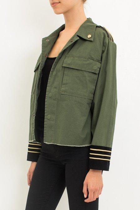 Loyd/ford Pilot Cropped Jacket - Olive