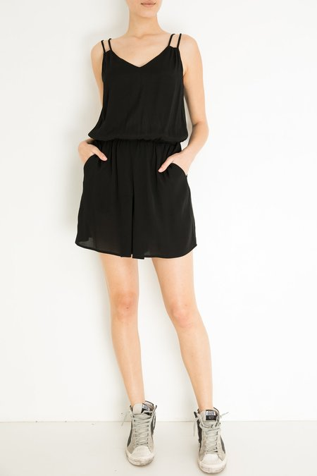 Pomandere Short Jumpsuit - Black