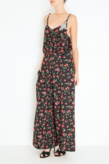 Dodo Bar Or Violetta Jumper - Black Floral