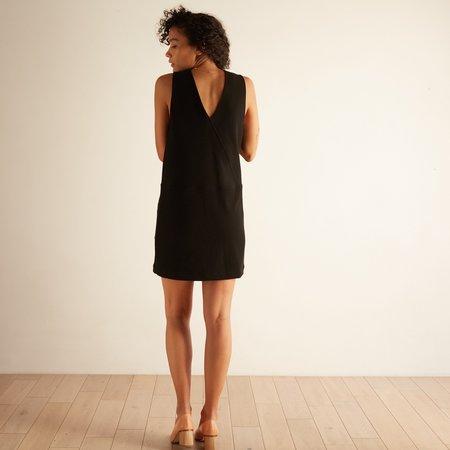 Acote Colarado Chasuble Dress - Noir