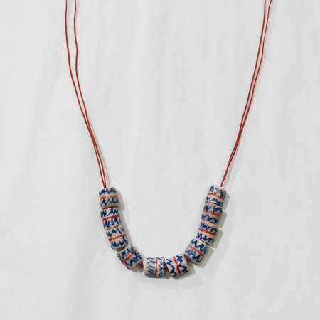 Punkwasp Hand Painted Series Bead Necklaces