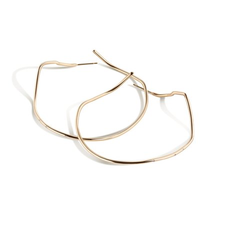 Shahla Karimi Subway X-Large Inwood to WTC Hoop Earrings - 14K Yellow Gold