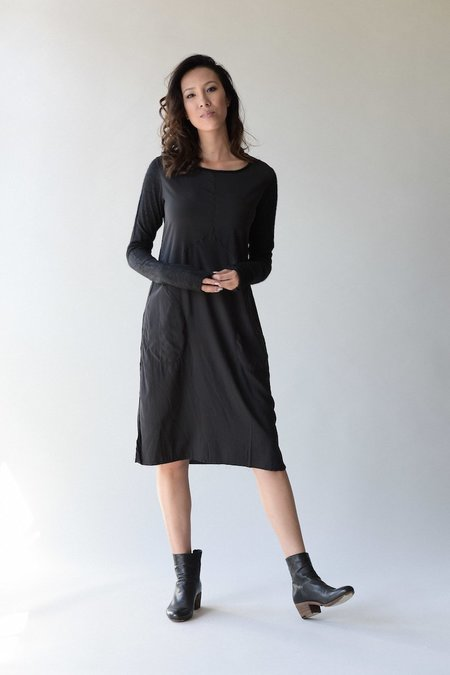 Kristensen du Nord 314 Silk Slim Dress - Graphite