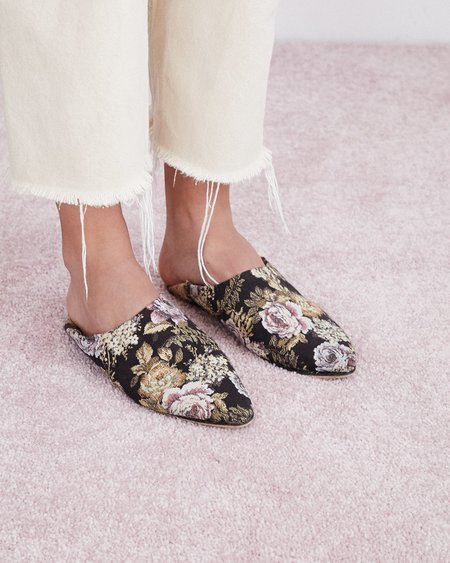 Nanushka Babou Babouche Slippers - Multirose