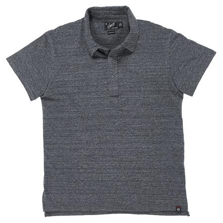 Grayers Slub Jersey Polo - Charcoal