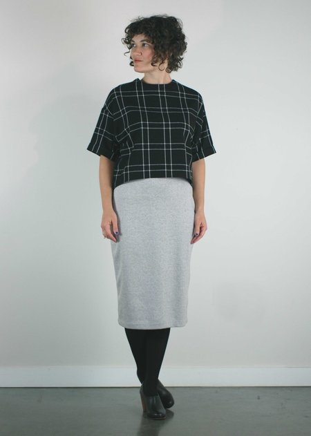 Bodybag by Jude Euston Plaid Top