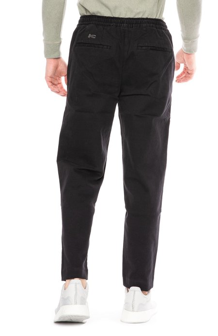 Denham Carlton Drawstring Pant - Shadow Black