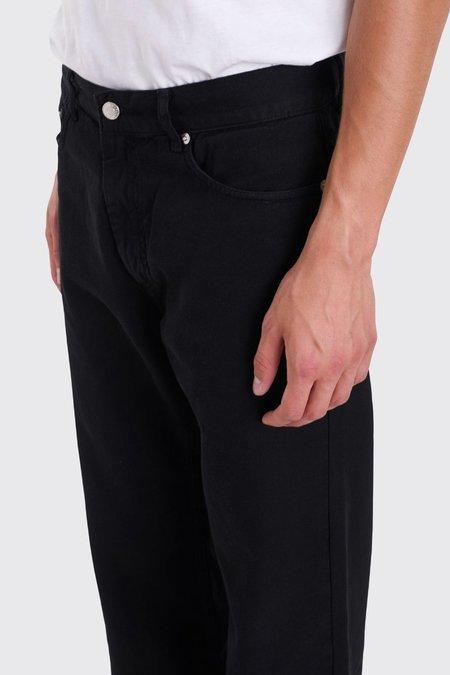 Tres Bien 5 Pocket Loose Cord Pants | Black