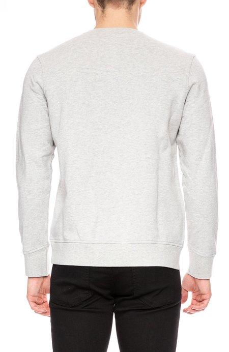 Life/After/Denim Otawa Fleece Crew Neck Sweatshirt - Light Heather Grey