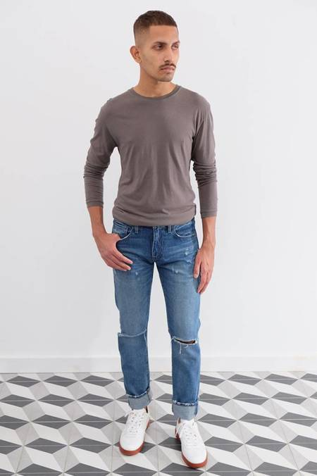 Levi's 511 Slim Fit Torn Jeans