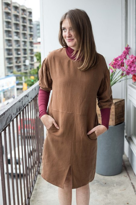 Eve Gravel Hazelwood Dress - Cinnamon