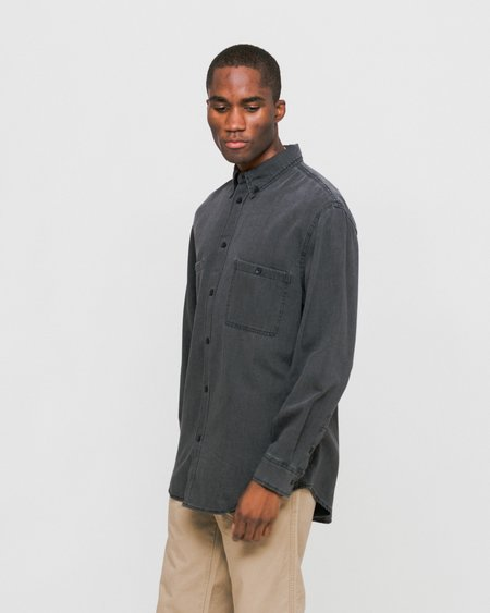 Cheap Monday Conduct Denim Shirt - Tar Wash