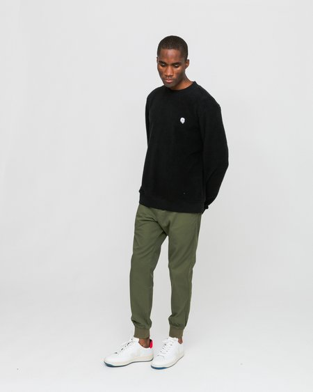 Cheap Monday Worth Polar Fleece Sweat - Black