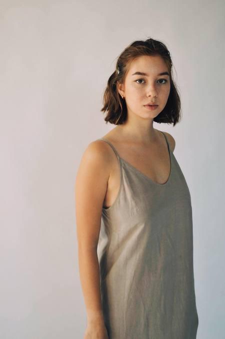 Ursa Minor Studio STELLA DRESS - CLAY