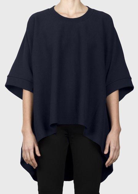 unisex complexgeometries ample sweatshirt - navy