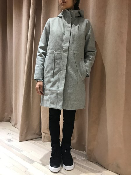 SELFHOOD LIV COAT - GRAY