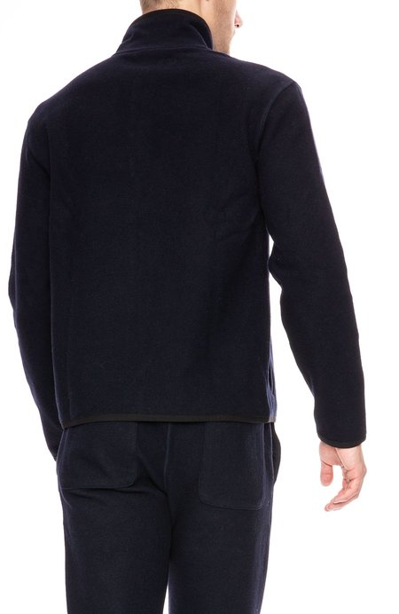 AMI Half Zip Sweater