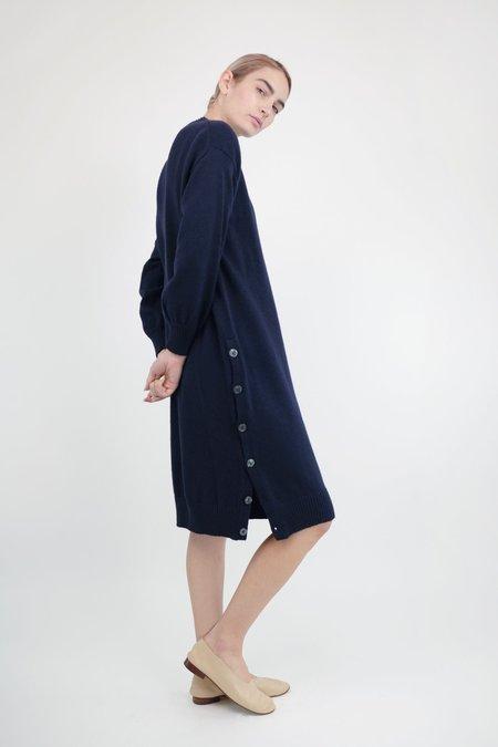 Micaela Greg Lou Sweater Dress - Mignight Blue