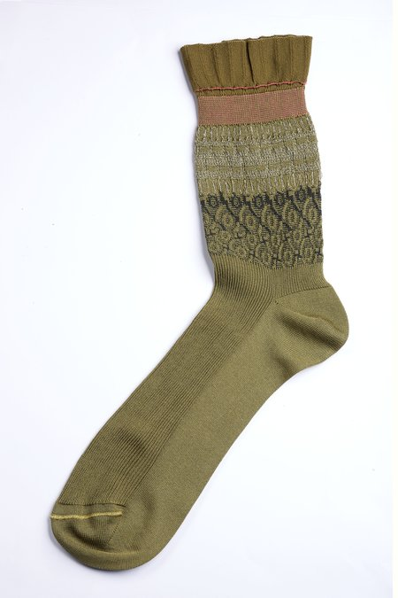 DèPio 600 Socks - Kaki Decor
