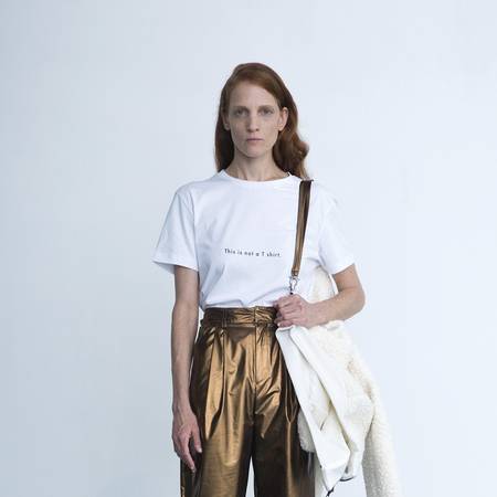 Unisex Vender Art Tee - white