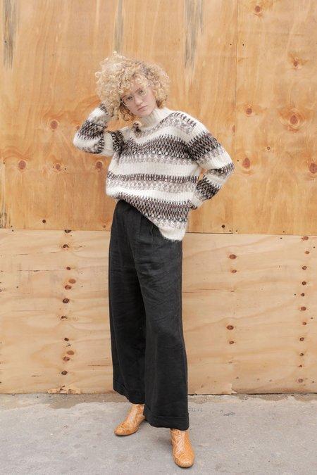 Kordal Fairisle Sweater - Brown Multi