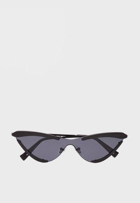 Le Specs X Adam Selman The Scandal Sunglasses - Satin Black