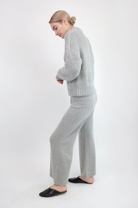 Micaela Greg A-Line Pant - Cloud Grey