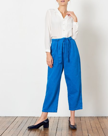 Anntian Big Pant - Bleach/Dyed Blue