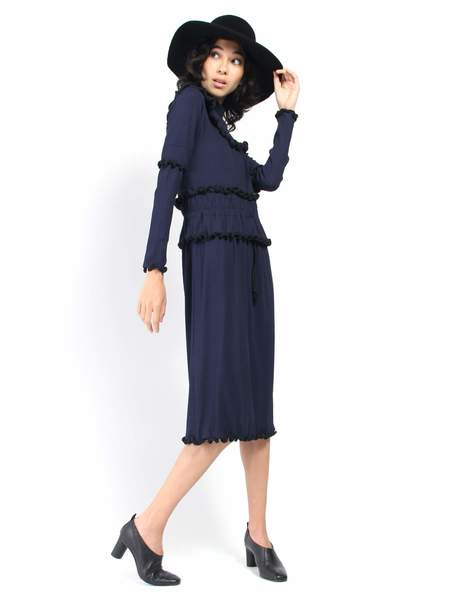 Desireeklein Hudson Dress - Navy