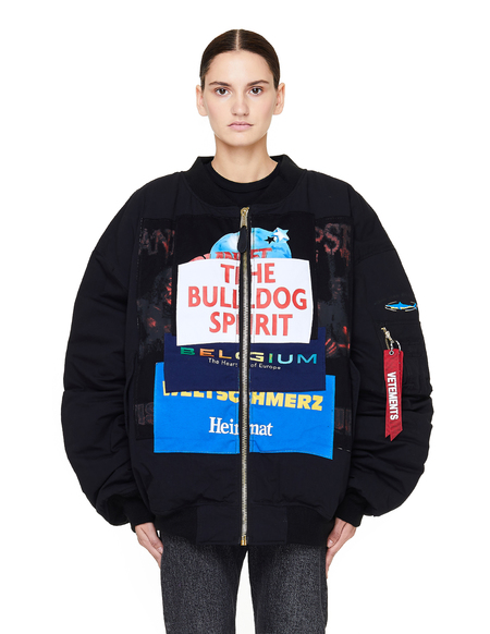 Unisex Vetements Reversible Alpha Industries Bulldog Spirit