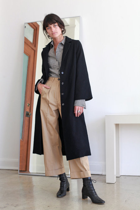 Town Clothes Anders Coat - Onyx