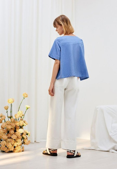 Kowtow Tidal Top - Chambray