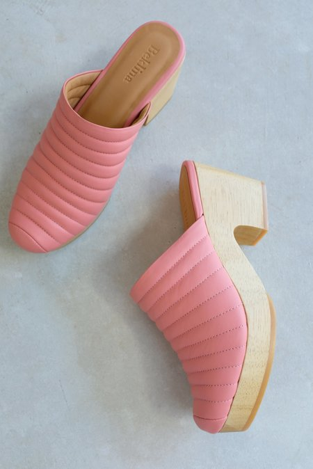 Beklina Ribbed Clog - 80's Blush