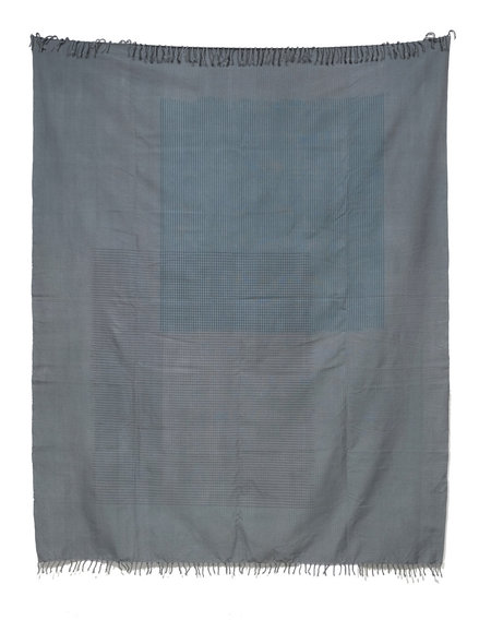 Tantuvi Lines Throw - Grey
