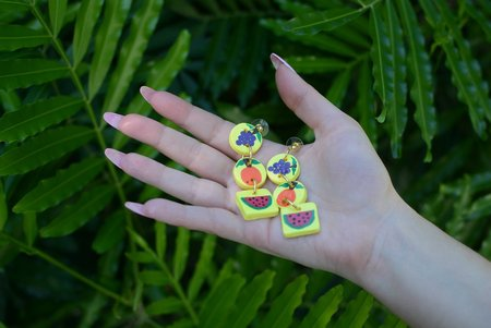 Ariel Kellogg Juicy Fruits Earrings