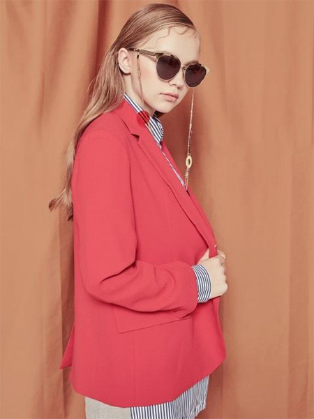 Blank Love Jacket RD - Red
