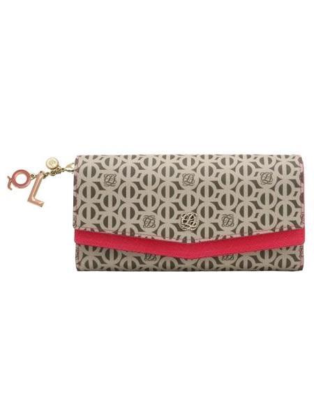 Louis Quatorze Long Wallet - Rose Pink
