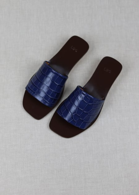 LOQ Croc Nuria Slides - Azulejo