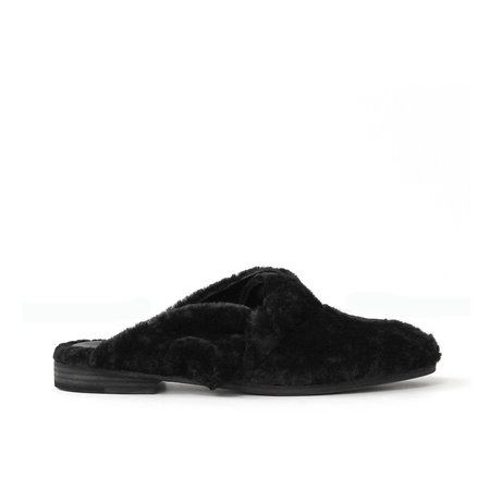 LD Tuttle The Dada - Black Shearling