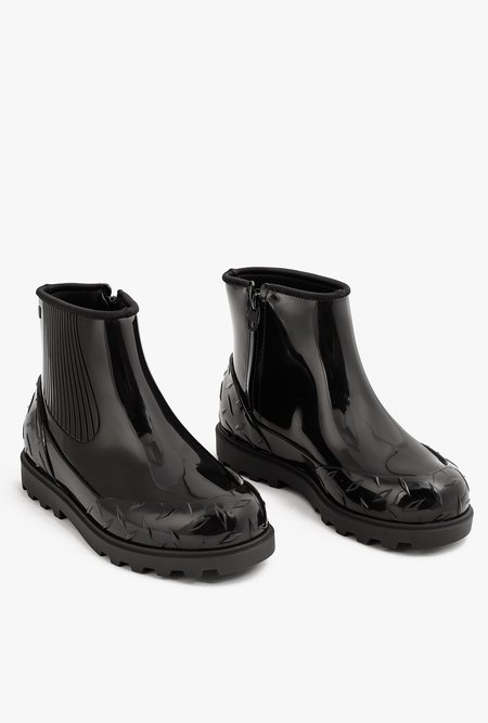 Melissa Fusion Boot - BLACK