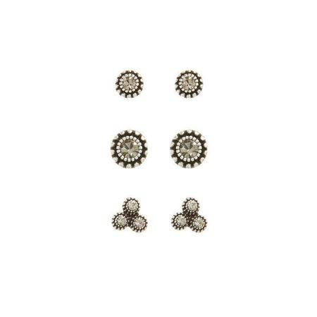Luv AJ The Moroccan Studs Set - Silver