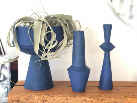 Bobbie Specker Bold Vases - Blue