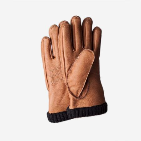 Hestra Deerskin Primaloft Rib Glove - Cork