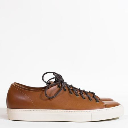 Buttero Tanino Leather  Low Sneakers - Light Brown