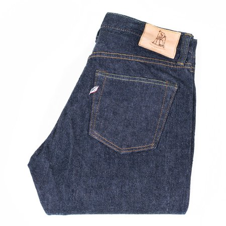 Pure Blue Japan PBE-019 17.5oz Pop up Beige Relaxed Tapered