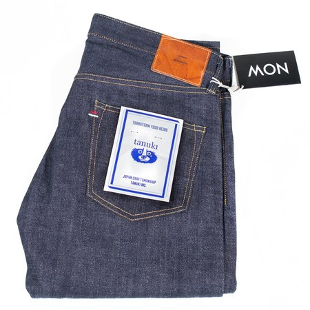 Tanuki RT1 Retro Unsanforized Denim Tapered Jeans