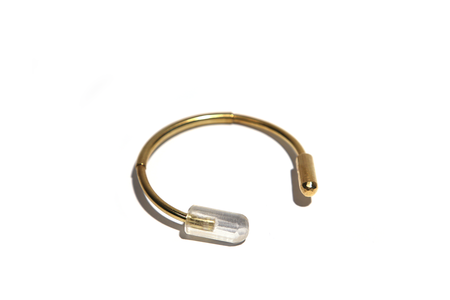 Formina brass and resin bracelet